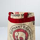 Fairtrade Recycled Cement Shopper Bag