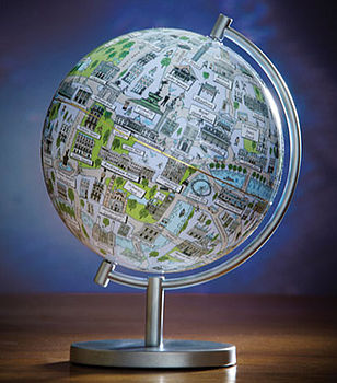 London Night Light Globe