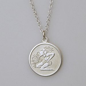 Zodiac Pendant - necklaces & pendants