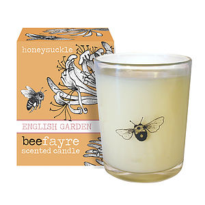 Honeysuckle Scented Votive Candle - candles & candlesticks