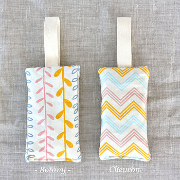 Botany Or Chevron Lavender Bag