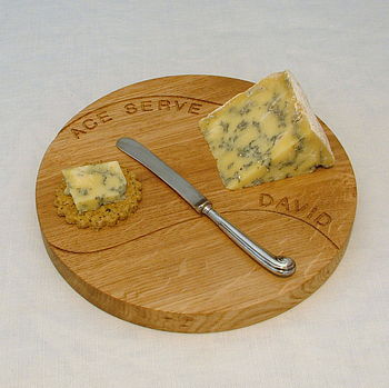 Personalised 'Ace Serve' Cheeseboard