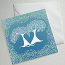 Set Of Four Illustrated Tree Greetings Cards (Correlli Trees)