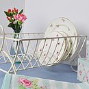 Shabby Chic Country Heart Plate Drainer