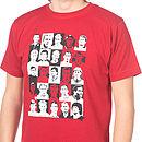 English Footballing Icons T Shirt
