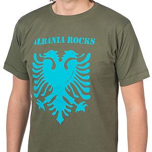 Albania Rocks T Shirt