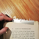 'Once Upon A Time' Fairy Tale Bookmark