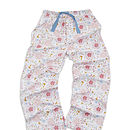 Older Girl's Printed Jersey Lounge Pants