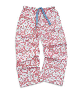 Older Girl's Floral Jersey Lounge Pant - clothing