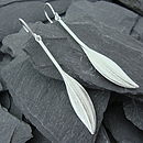 Basia Leaf Earrings