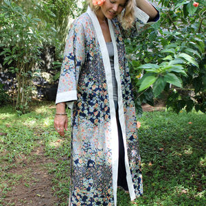 Geisha Kimono Dressing Gown - the morning of the big day