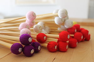 Handmade Woolly Knitting Needles - leisure