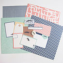 Craft Cardmaking And Scrapbooking Monthly Kit
