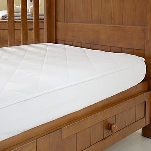 Wool Cot Mattress Protector - cot bedding