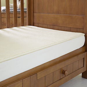 Wool Travel Cot Mattress Enhancer