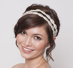 Victoria II Bridal Headband - wedding fashion