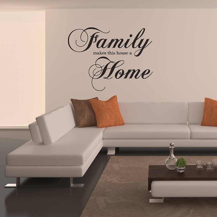 Family home wall sticker by oakdene designs notonthehighstreet family home wall sticker amipublicfo Choice Image