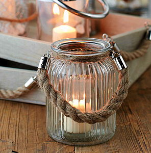 Padstow Hurricane Lantern - kitchen