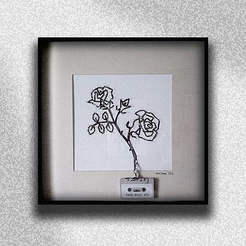 Stone Roses Cassette Tape Artwork
