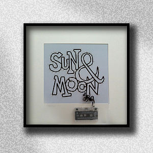 'Sun & Moon' Cassette Tape Artwork