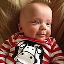 'Cow Says Moo' Romper Suit
