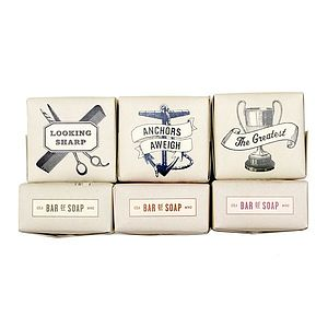 Large Retro Soap Bars