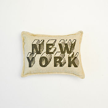 'New York' Balsam Fir Pillow