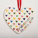 Personalised Hand Painted Love Heart