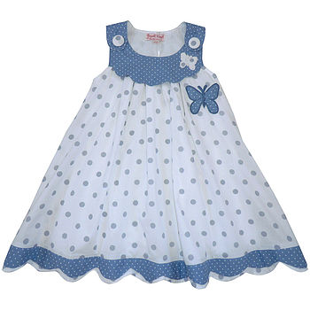 Personalised Dotty Dress With Doll