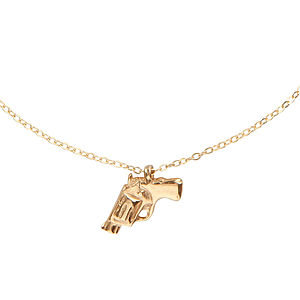 Gold Bang Bang Necklace - necklaces & pendants