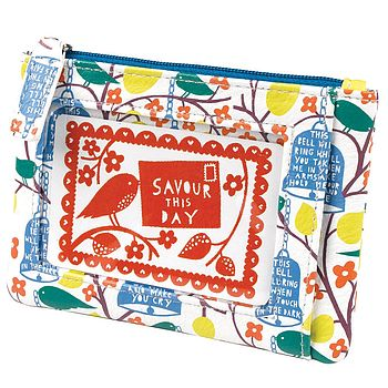 'Savour This Day' Coin Purse