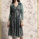Special Occasion Lace Dress Reef Green And Teal
