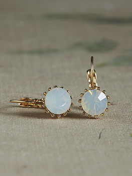 Mati Opal Crystal Earrings