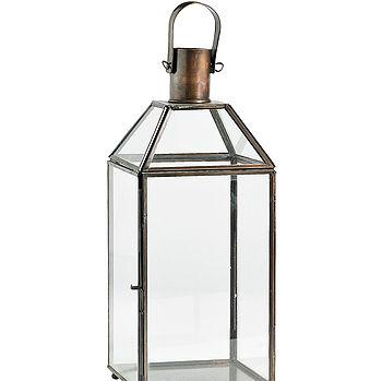 Nordal Metal Lantern in copper