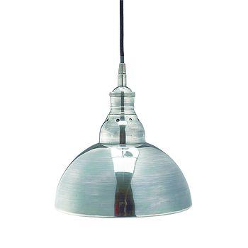 Antique Metal Hanging Lamp By Nordal