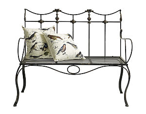 Iron Bench - furniture