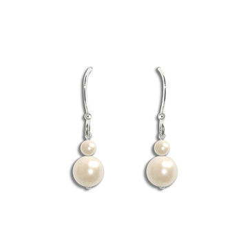 Angel Pearl Droplet Earrings