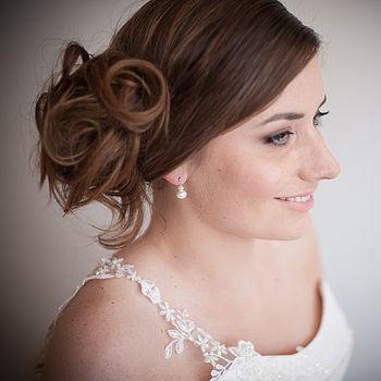 Angel Pearl Droplet Earrings