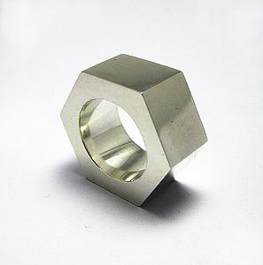 Large Nut Ring - jewellery