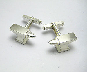 Anvil Cufflinks - cufflinks