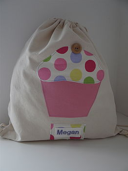 Personalised Cupcake Kit Bag