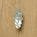 Oak Leaf Cupboard Handle, Drawer Pull