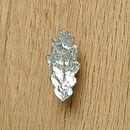 Oak Leaf Cupboard Handle, Drawer Pull