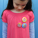 Six Kids Bear Badges