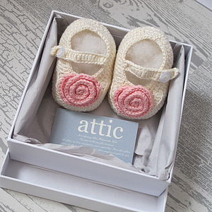 Bamboo Baby Mary Jane Shoes - christening wear