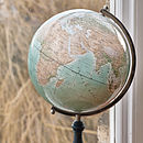 Personalised Modern Day Globetrotter Globe