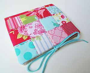 Handmade Patchwork Needle Case - pin cushions