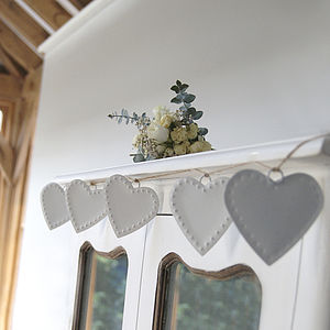 Hearts Garland - room decorations