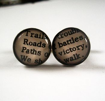 'Paths Of Victory' Cufflinks