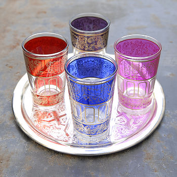 Arabesque Tea Glass